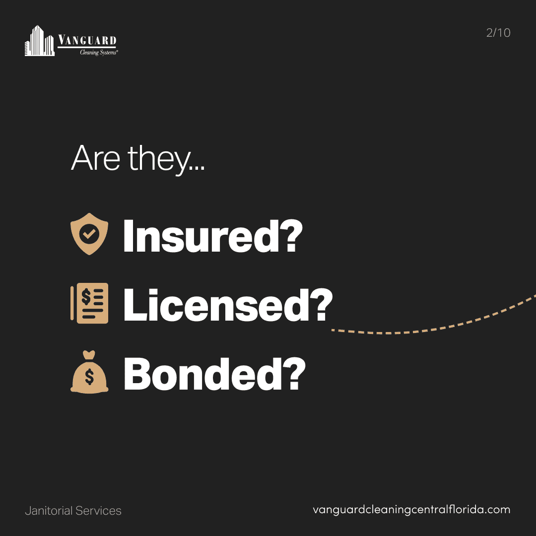 Are they insured, licensed, and bonded?