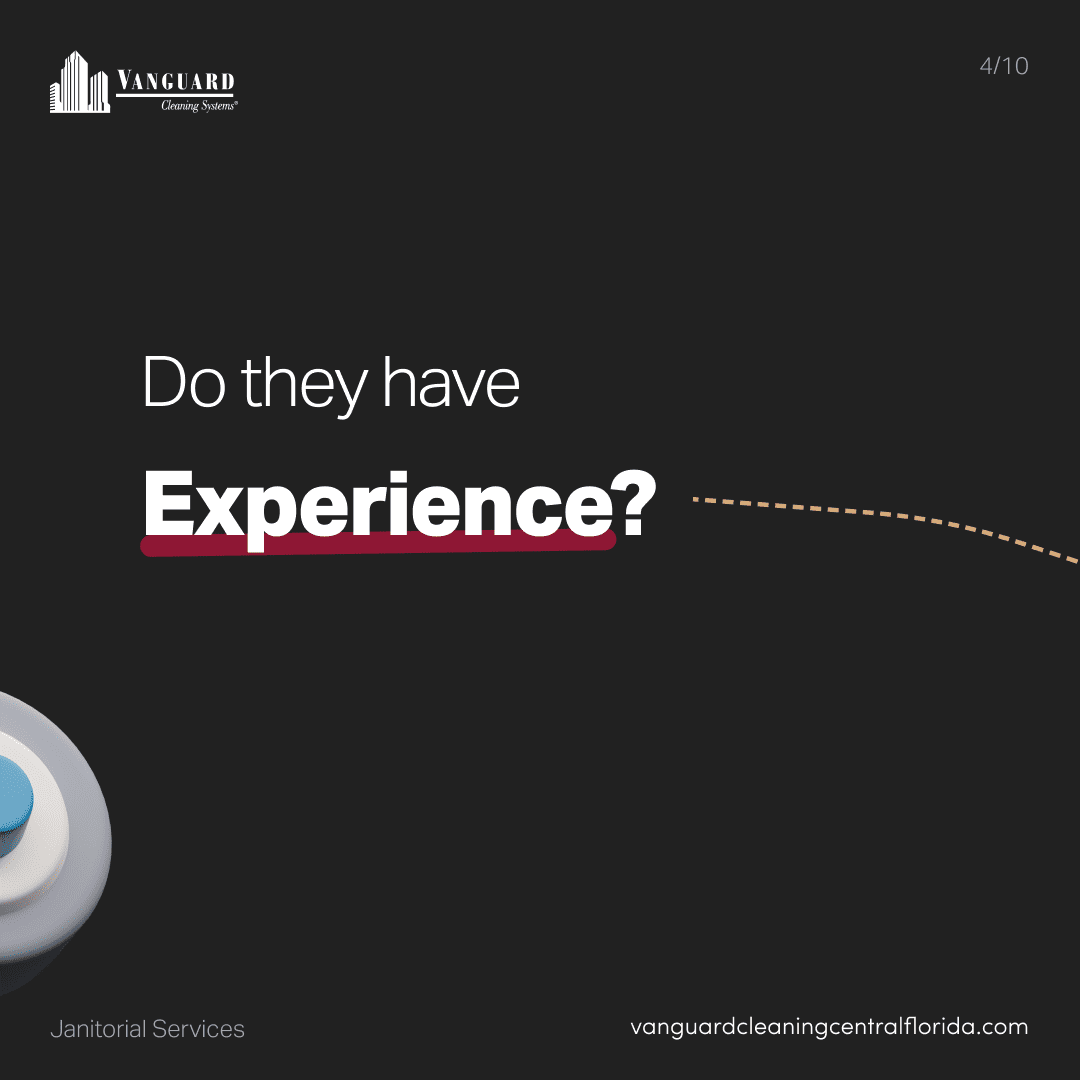Do they have experience?