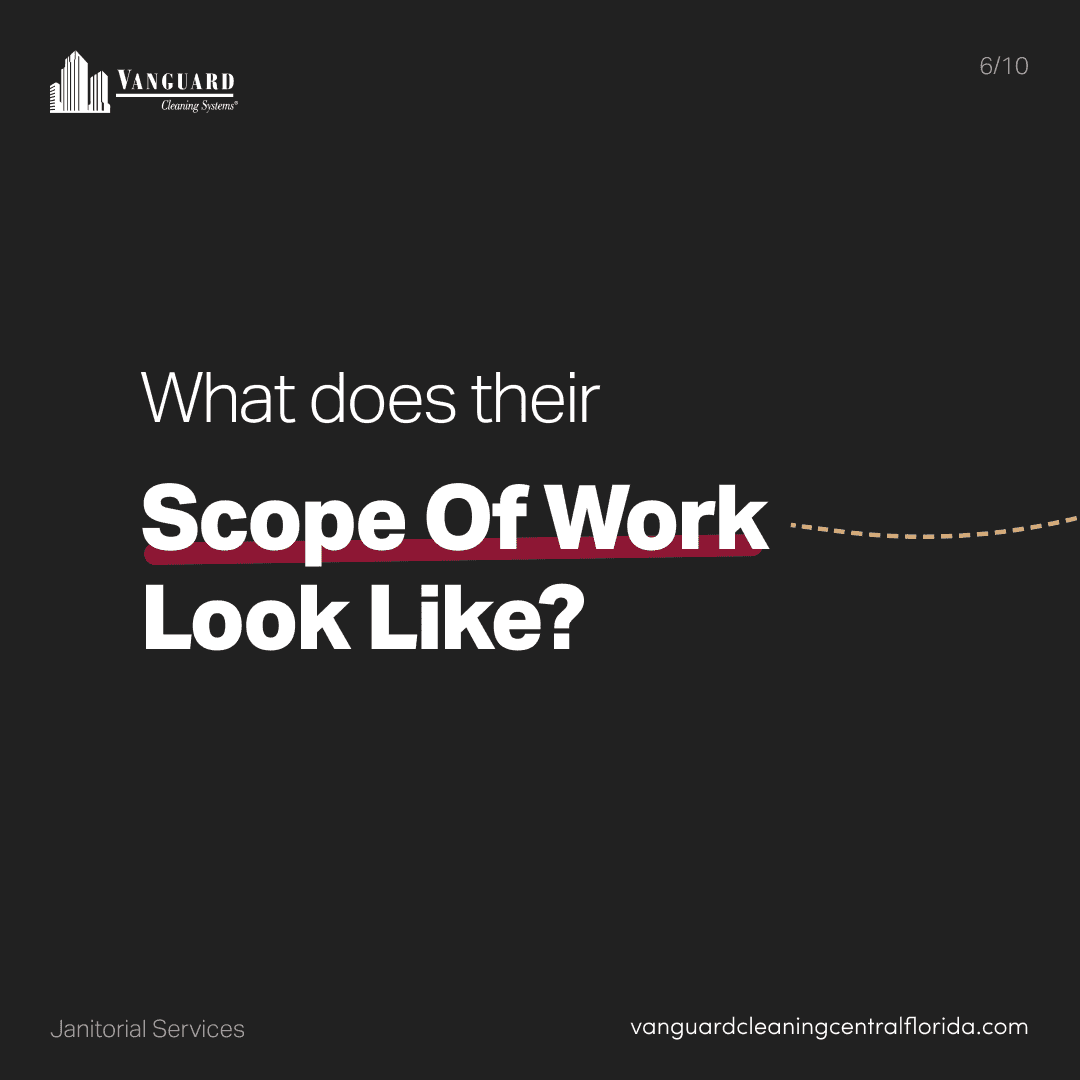 What does their scope of work look like?