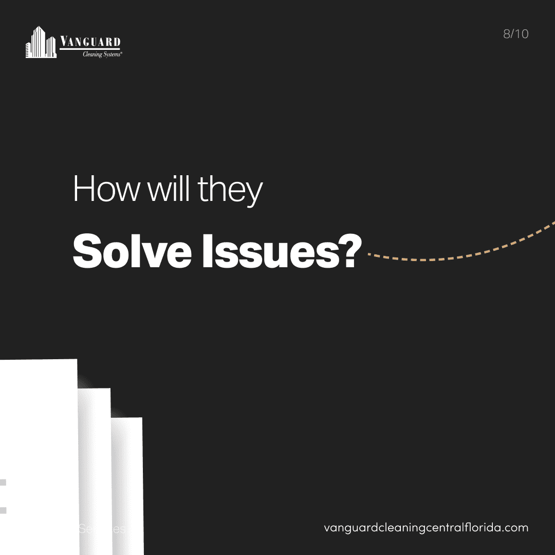 How will they solve issues?