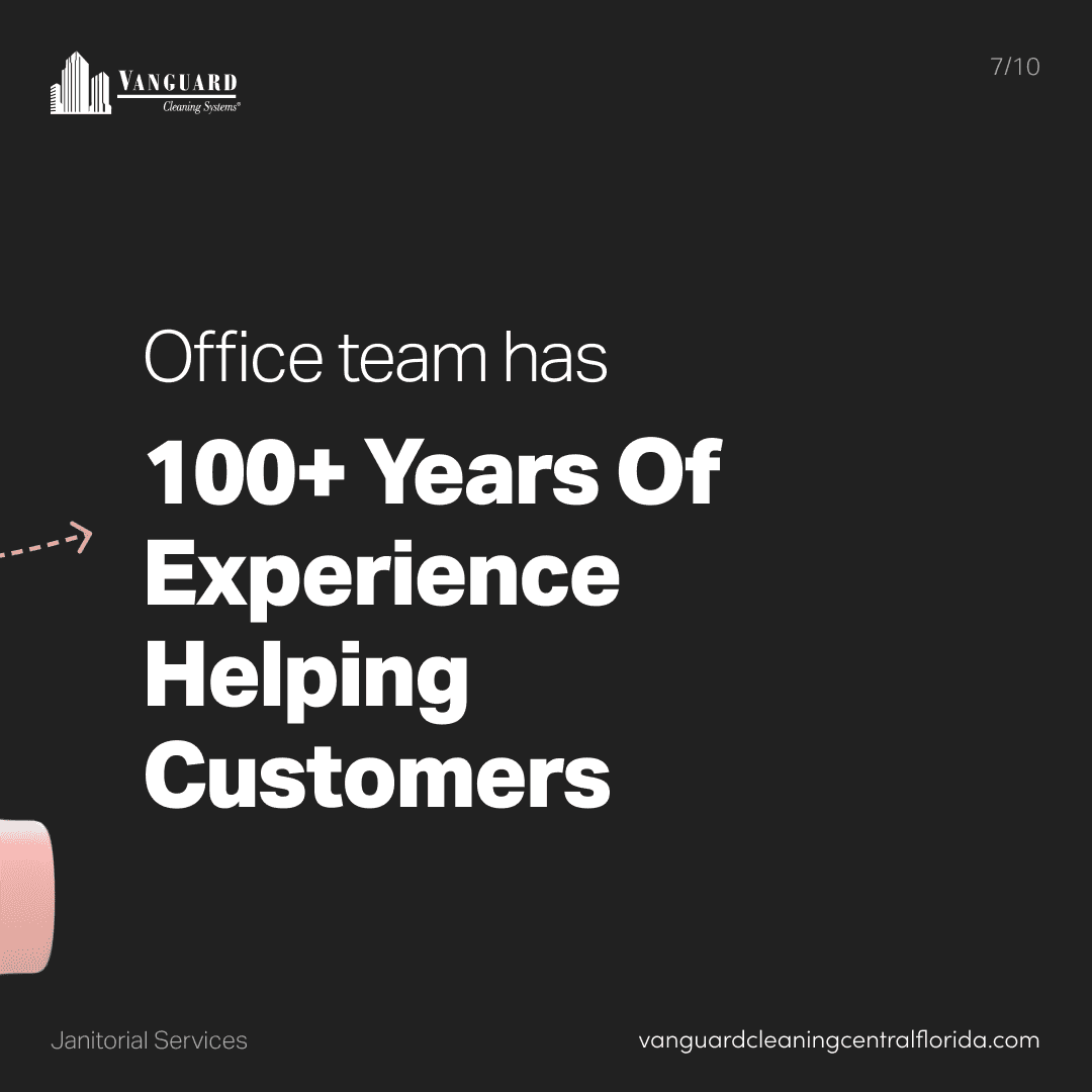 Office team has over 100 years of experience helping customers