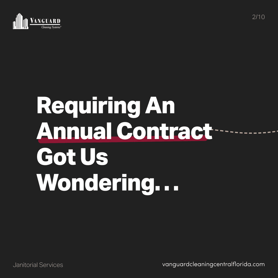 Requiring an annual contract got us wondering