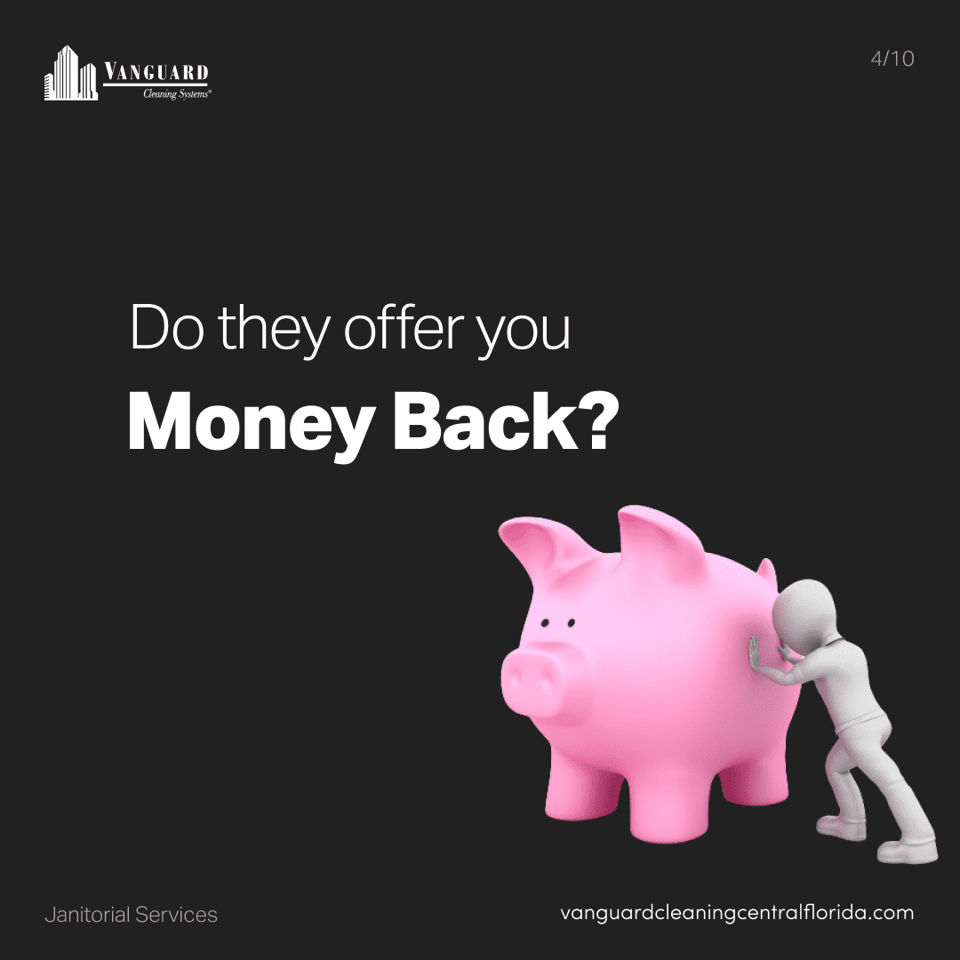 Do they offer you money back?