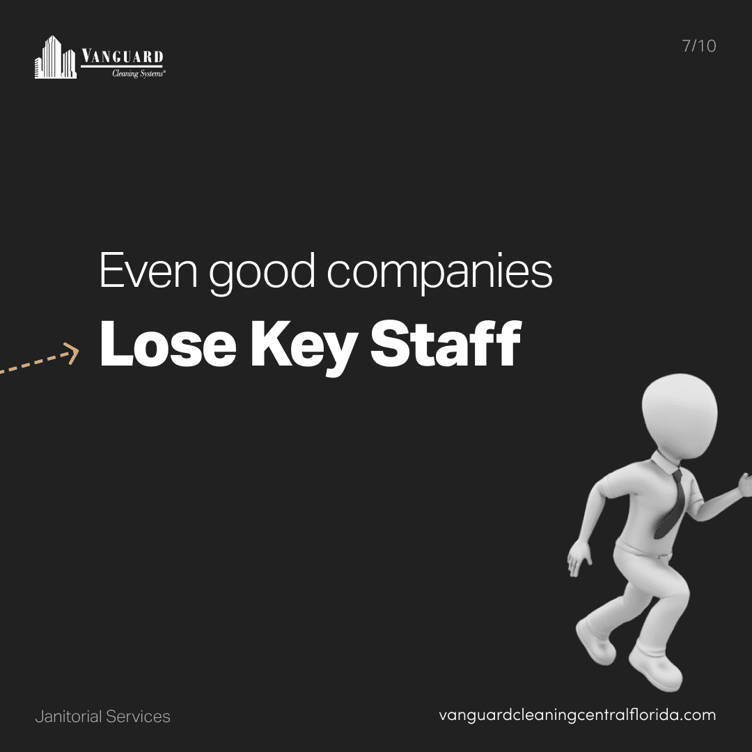 Even good companies lose key staff