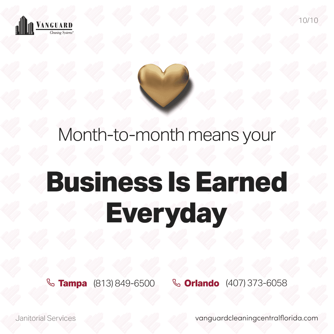 Month-to-month means your business is earned everyday