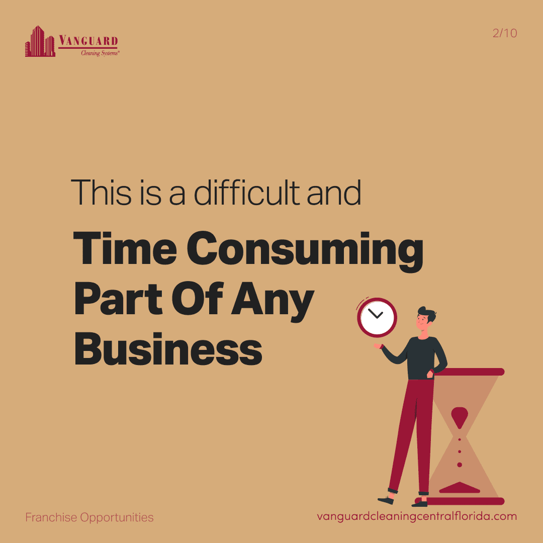 This is a difficult and time consuming part of any business