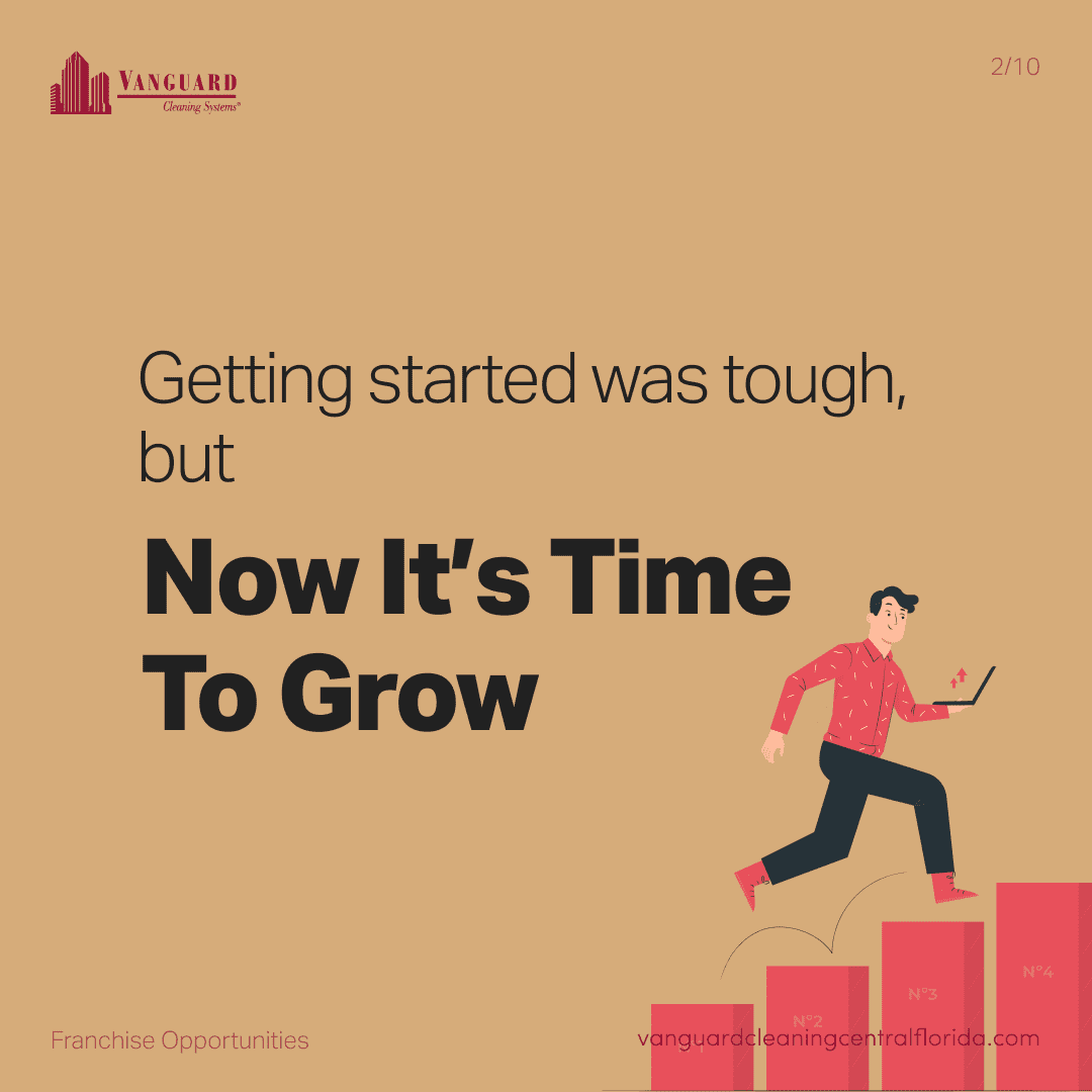 Getting started was tough but now it's time to grow