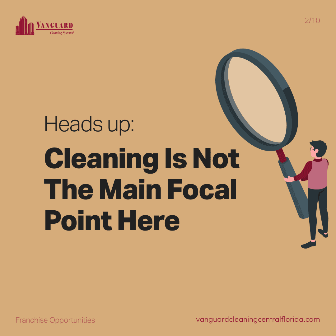 Heads up: cleaning is not the main focal point here