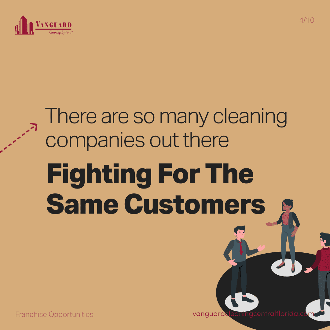 There are so many janitorial cleaning companies out there fighting for the same customers