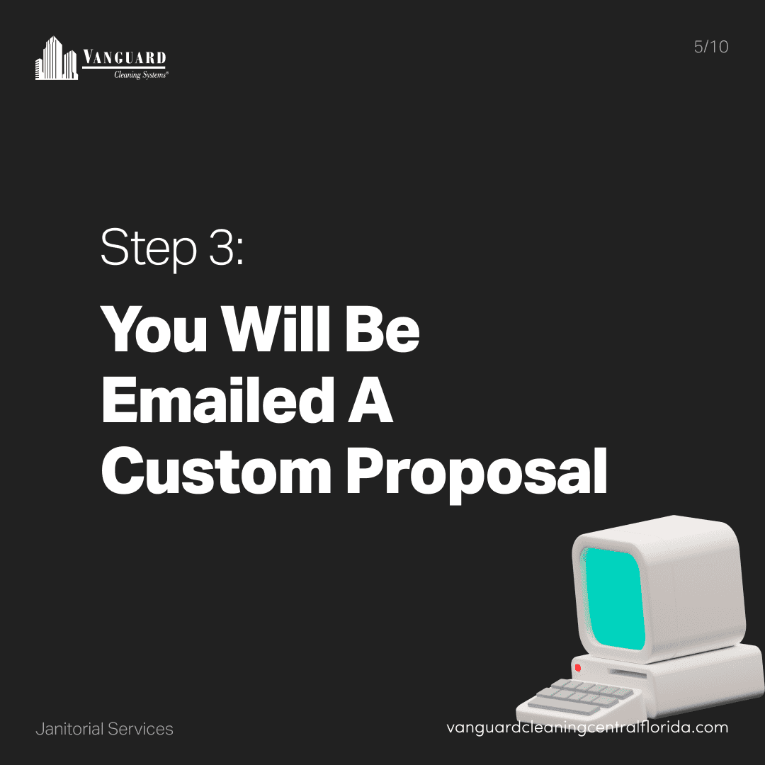 Step 3: You will be emailed a custom proposal