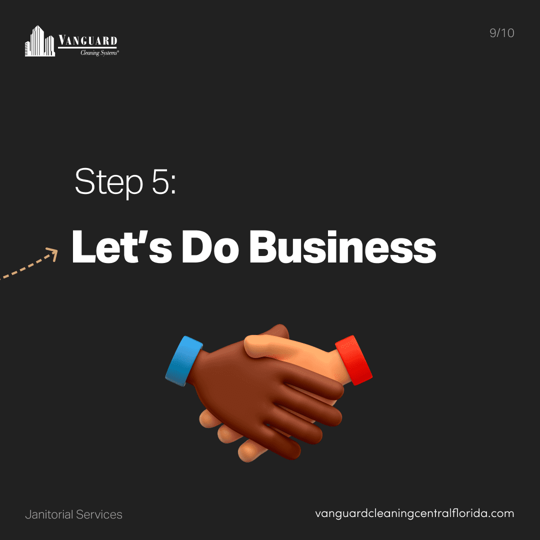 Step 5: Let's do business