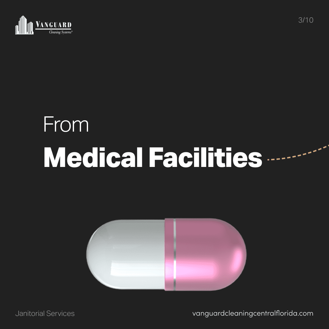 From medical facilities