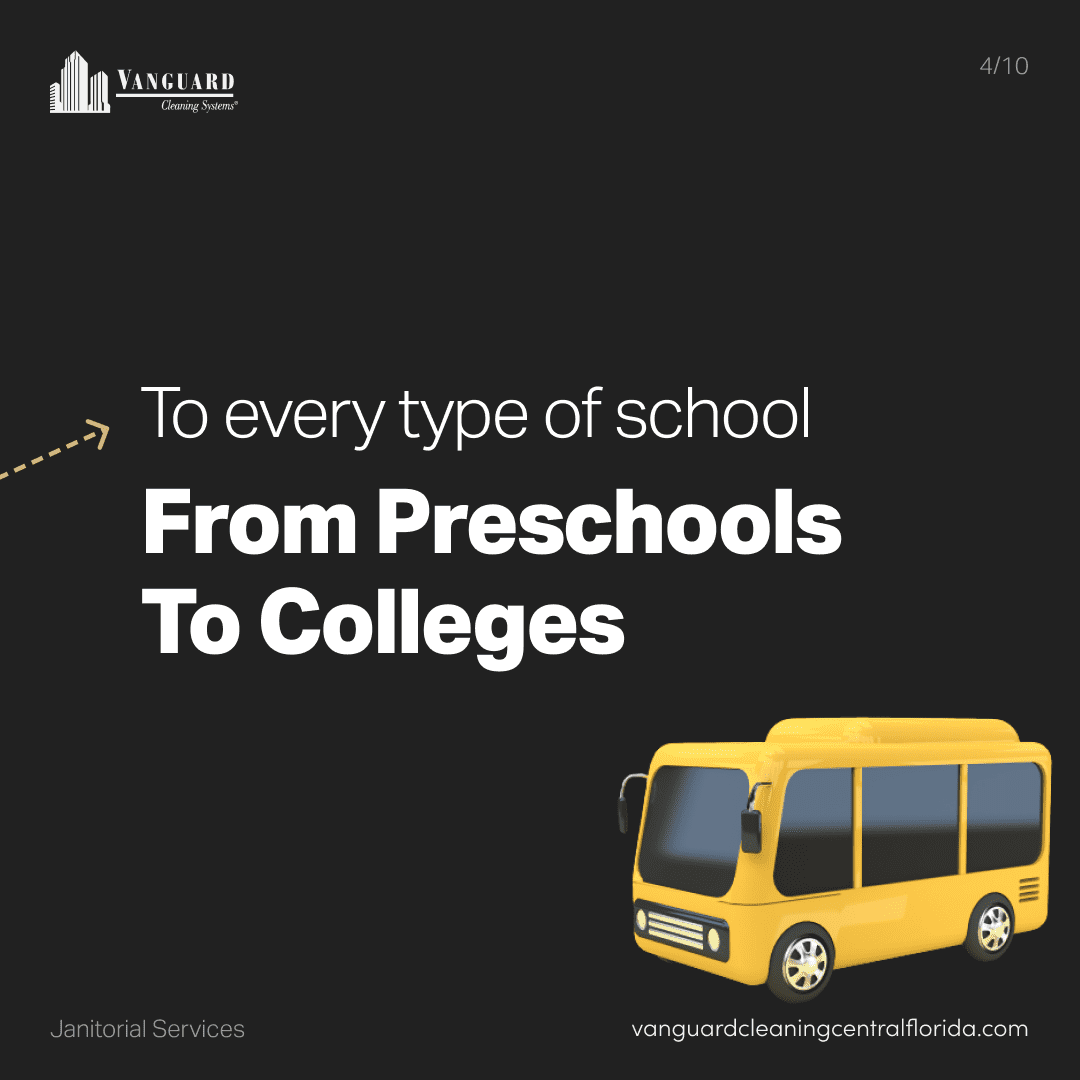 To every type of school from preschools to colleges