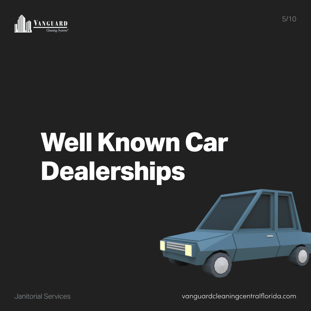 Well known car dealerships