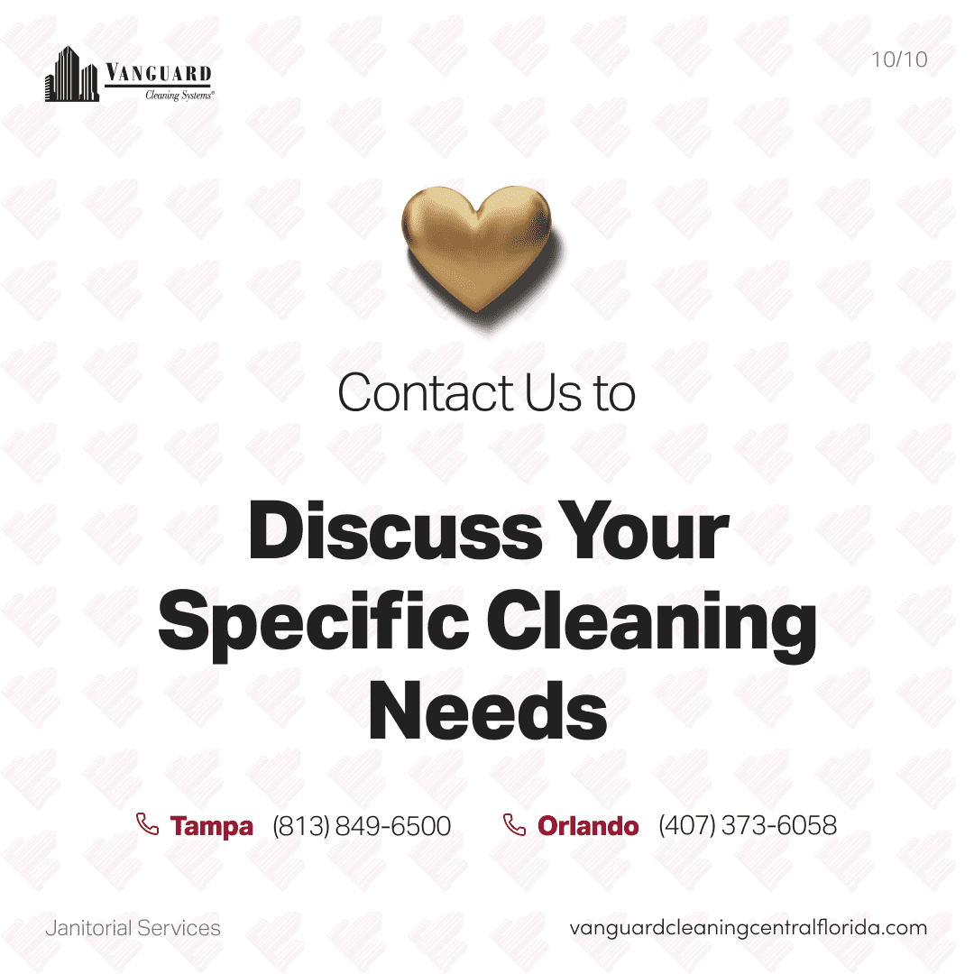 Contact us to discuss your specific cleaning needs
