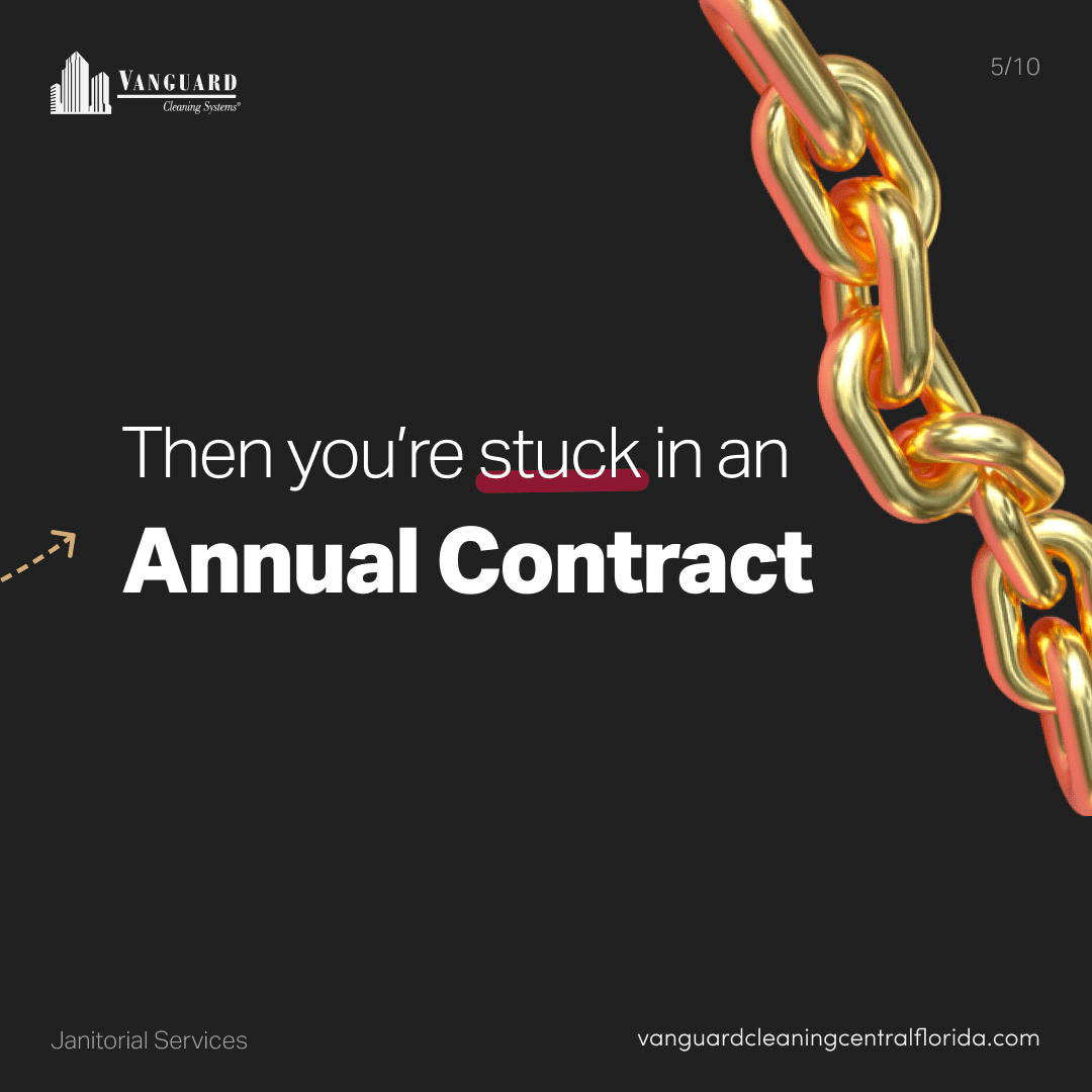 Then you're stuck in an annual contract