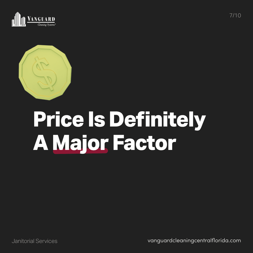 Price is definitely a major factor