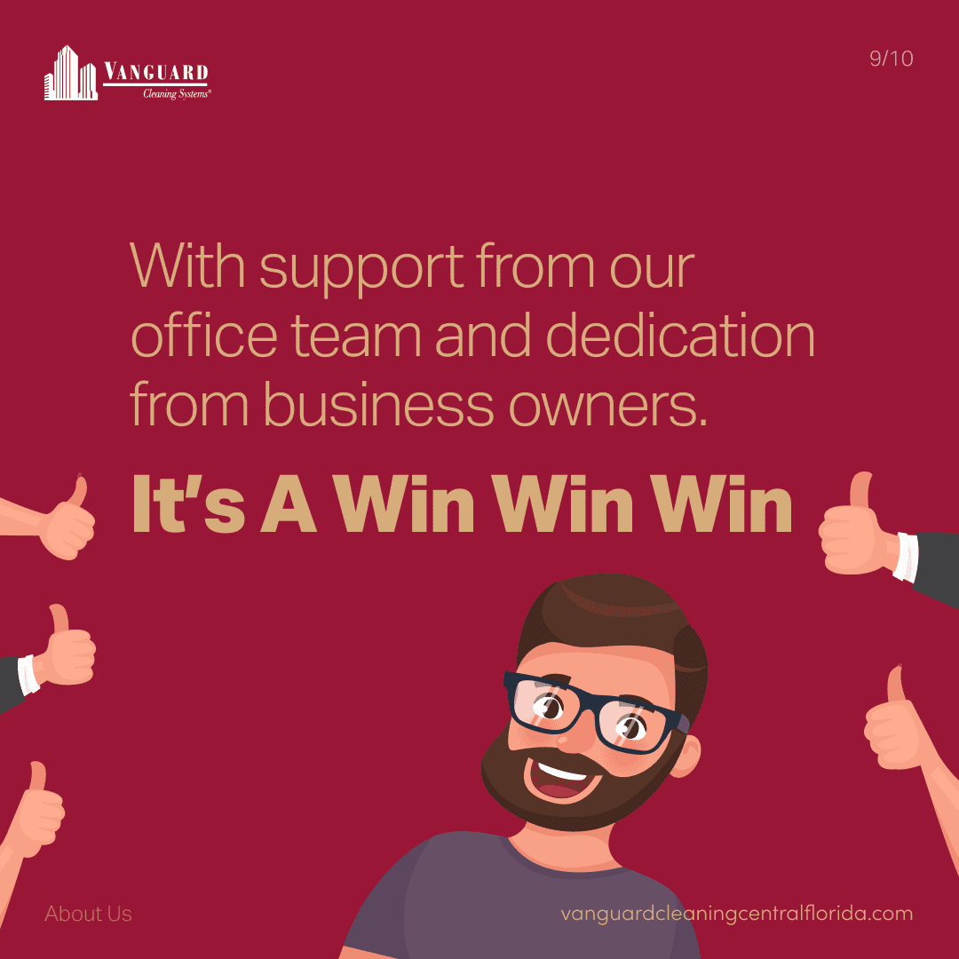 With support from our office and dedication from business owners. It's a win win win