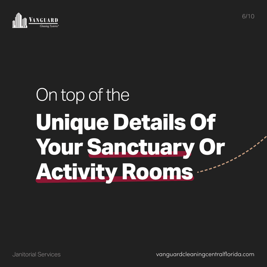On top of the unique details of your sanctuary or activity rooms