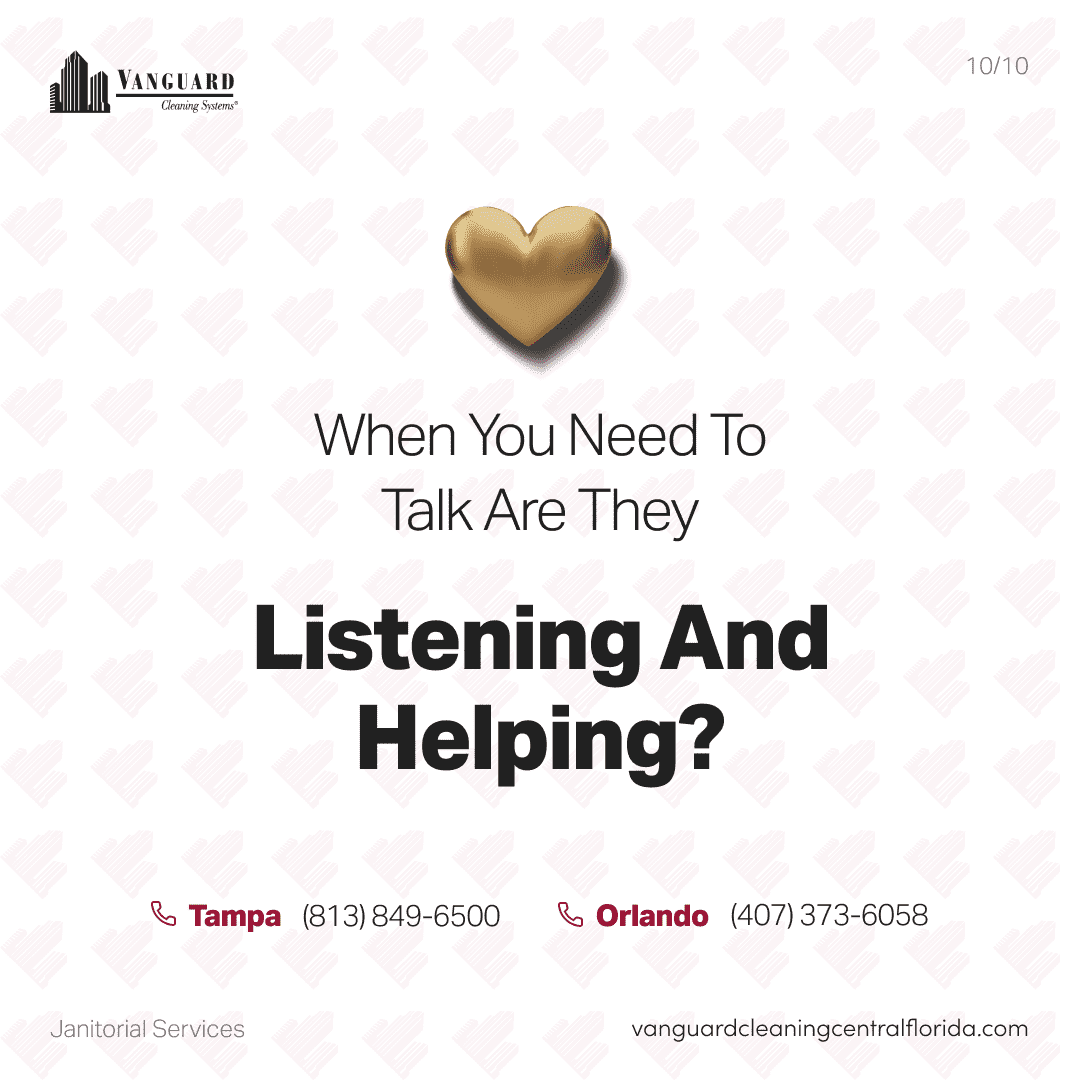 When you need to talk, are they listening and helping?