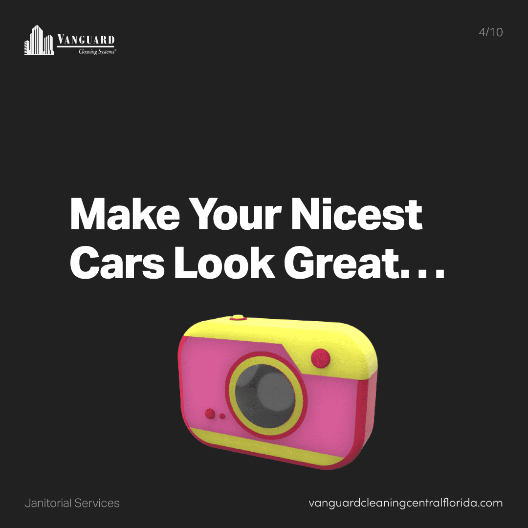 Make your nicest cars look great